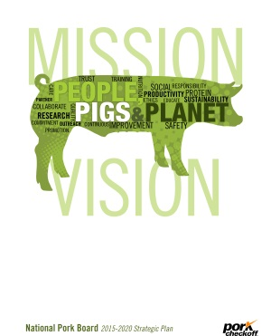 Pork Checkoff Strategic Plan